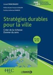 Dernières parutions sur Économie et politiques de l'écologie, Stratégies durables pour la ville