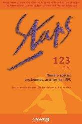 Dernières parutions sur Enseignement du sport, Staps N° 123/2019 : Les femmes, actrices de l'EPS
