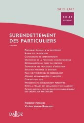 Dernières parutions dans Dalloz référence, Surendettement des particuliers. Edition 2012