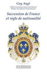 Dernières parutions sur Histoire du droit, Succession de France et règle de nationalité