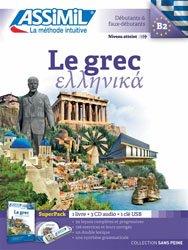 Dernières parutions sur Auto apprentissage, Le Grec - Débutants et Faux-débutants - Super Pack