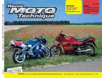 Dernières parutions dans Revue moto technique, Suzuki RG 125F ''Gamma'' (92 et 93) RG 125 ''Wolf'' (mod.92)