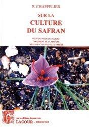 Dernières parutions dans Rediviva, Sur la culture du safran