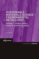 Dernières parutions sur Métallurgie - Fonderie, Sustainable Materials Science - Environmental Metallurgy