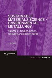Dernières parutions sur Métallurgie - Fonderie, Sustainable Materials Science - Environmental Metallurgy