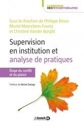 Dernières parutions dans Carrefour des psychothérapies, Supervision en institution et analyse de pratiques https://fr.calameo.com/read/000015856623a0ee0b361