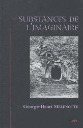 Dernières parutions dans Essais, Substances de l'imaginaire majbook ème édition, majbook 1ère édition, livre ecn major, livre ecn, fiche ecn