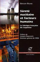 Dernières parutions dans Économie et gestion, Sûreté nucléaire et facteurs humains La fabrique française de l'expertise