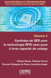 Dernières parutions sur Automatique - Robotique, Synthèse de SER pour la technologie RFID sans puce à forte capacité de codage