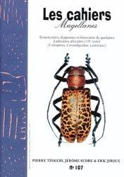 Dernières parutions dans Cahiers Magellanes, Synonymies, diagnoses et bionomie de quelques Lamiaires africains (13e note)