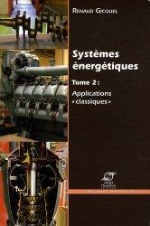 Dernières parutions dans Les cours de l'école, Systèmes énergétiques