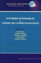 Dernières parutions sur Théorie de la relativité, Systèmes intégrables et théorie quantique des champs