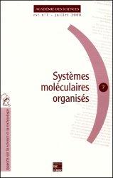 Dernières parutions sur Biochimie, Systèmes moléculaires organisés