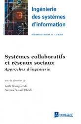 Dernières parutions sur Réseaux sociaux, Systèmes collaboratifs et réseaux sociaux - Approches d'ingénierie