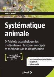 Dernières parutions sur Biologie et physiologie animale, Systématique animale