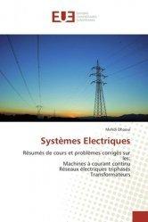 Dernières parutions sur Electricité, Systèmes Electriques