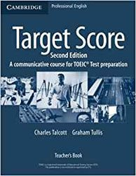 Dernières parutions sur TOEIC and TOEFL, Target Score - Teacher's Book