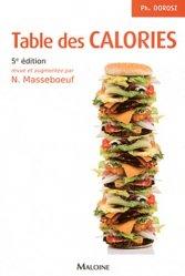 Souvent acheté avec Guide pratique analyses médicales, le Table des calories