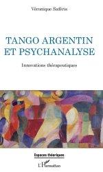 Dernières parutions dans Espaces théoriques, Tango argentin et psychanalyse