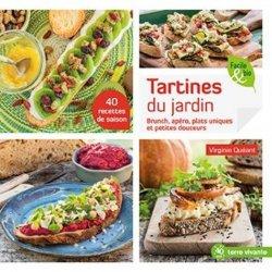 Dernières parutions sur Cuisine bio et diététique, Tartines du jardin. Brunch, apéro, plats uniques et petites douceurs