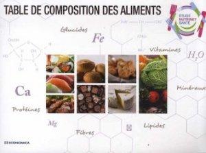 Souvent acheté avec Connaissance des aliments, le Table de composition des aliments