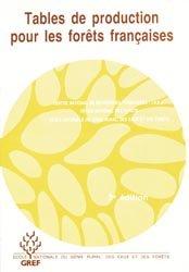 Nouvelle édition Tables de production pour les forêts françaises