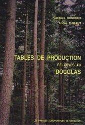 Souvent acheté avec Tables de production pour les forêts françaises, le Tables de production relatives au douglas