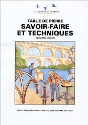 Dernières parutions dans Les cahiers du Collège des métiers, Taille de pierre Savoir faire et techniques