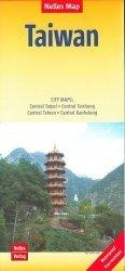Dernières parutions sur Chine, Taiwan. City maps : Central Taipei, Central Taichung, Central Tainan, Central Kaohsiung. 1/400 000, Edition 2020, Edition français-anglais-allemand