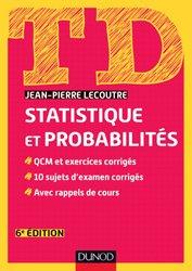 Souvent acheté avec Histoire des nombres, le TD Statistique et probabilités