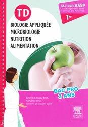 Souvent acheté avec Terminologie médicale et physiopathologie, le TD Biologie appliquée, microbiologie, nutrition, alimentation