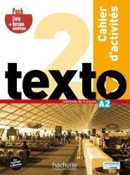 Dernières parutions sur Grands adolescents et Adultes, Texto 2 - Pack Cahier d'activités + Version numérique