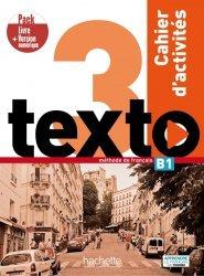 Dernières parutions sur Grands adolescents et Adultes, Texto 3 - Pack Cahier d'activités + Version numérique