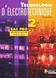Dernières parutions sur Electrotechnique, Technologie d'électrotechnique 2e