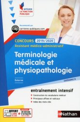 Dernières parutions sur Aide-soignant - DEAS, Terminologie médicale et physiopathologie