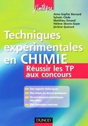 Souvent acheté avec Physique 2ème année PC PC*, le Techniques expérimentales de Chimie pour réussir l'épreuve de TP aux concours