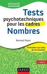 Dernières parutions dans Efficacité professionnelle, Tests psychotechniques pour les cadres : Nombres. 2e édition