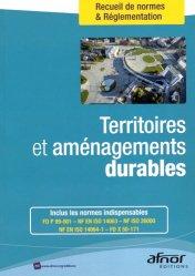 Dernières parutions dans Recueils de normes , Territoires et aménagements durables