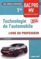 Souvent acheté avec Technologie de l'automobile 2de Bac Pro Maintenance des véhicules, le Technologie automobile 1re Bac Pro MV