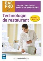 Souvent acheté avec Le bullet agenda de l'étudiante infirmière : 2019-2020, le Technologie de restaurant 2de Bac Pro CSR (2016) - Pochette élève
