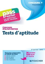 Tests d'aptitude  Concours IFSI / AP / Ortho