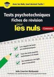 Dernières parutions sur Tests psychotechniques, Tests psychotechniques pour les nuls concours