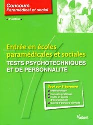 Souvent acheté avec Les tests d'aptitude du concours infirmier, le Tests psychotechniques et de personnalité