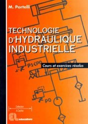 Dernières parutions dans Mémotech, Technologie d'hydraulique industrielle