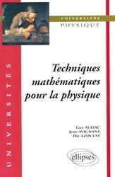 Dernières parutions dans universités, Techniques mathématiques pour la physique