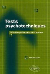 Souvent acheté avec Les tests d'aptitude du concours infirmier, le Tests psychotechniques