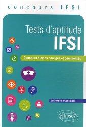 Souvent acheté avec Concours IFSI 2013-2014, le Tests d'aptitude IFSI