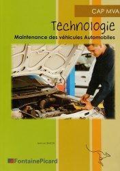 Souvent acheté avec Technologie fonctionnelle de l'automobile Tome 1, le Technologie CAP MVA