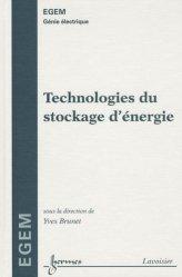 Dernières parutions dans EGEM, Technologies du stockage d'énergie
