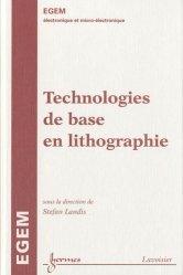 Dernières parutions dans EGEM, Technologies de base en lithographie